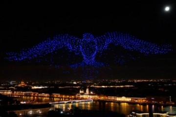 u-blox 定位技术助力无人机灯光秀呈上创纪录表演
