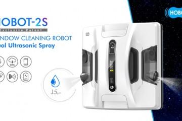 玻妞2S新款擦窗机曝光 双向自动喷水成焦点