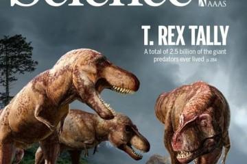 惊了地球上曾生活过25亿只霸王龙