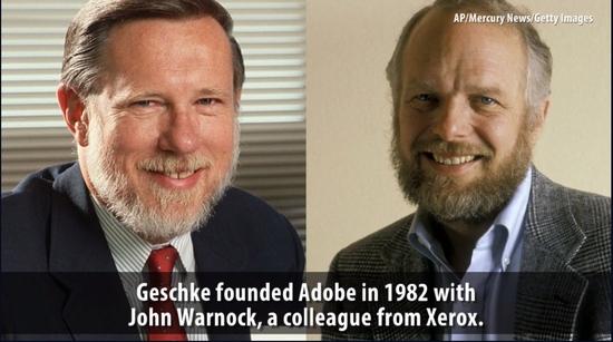 Adobe创始人PDF开发者去世享年81岁