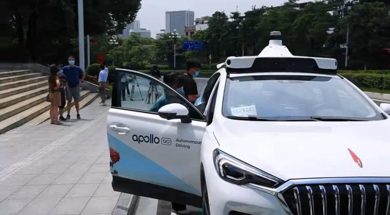 百度无人出租车进入广州已开拓全国4个城市